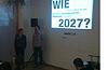 Ute Nöth und Carsten Raimann beim ersten eBookClub Hamburg