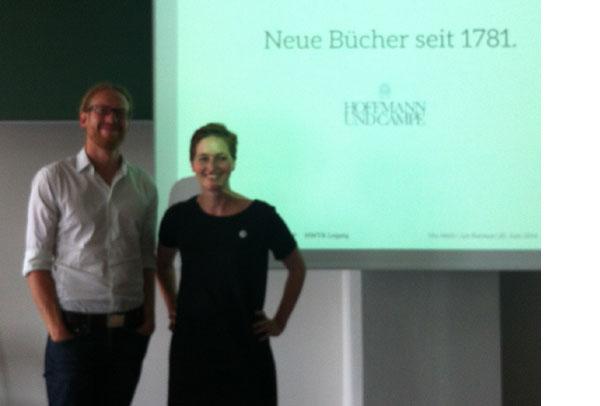 Gastvorlesung Ute Noeth und Jan Kermes an der HTWK