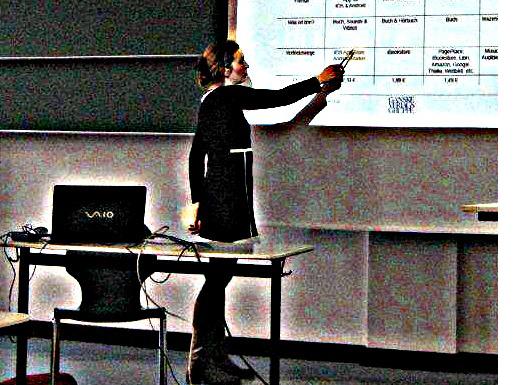 Ute Noeth. Vortrag an der HTWK Leipzig